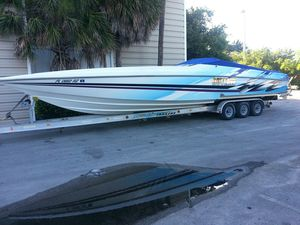 Used Active Thunder Speedboat High Performance Boat For Sale