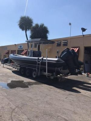 Used Fluid Watercraft 8.6M Tow-behind Tender Boat For Sale