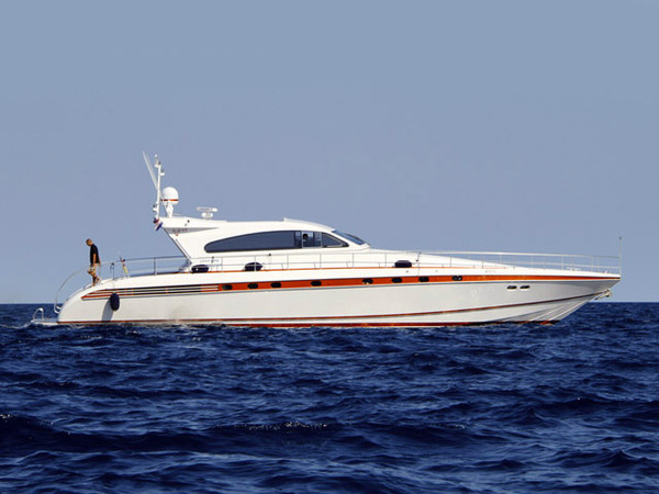 Used Leopard Express Cruiser Boat For Sale