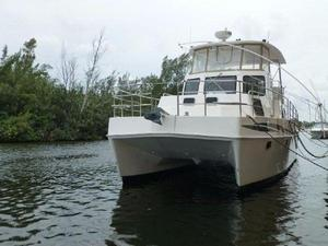 Used Endeavour Catamaran Trawlercat 40 Power Catamaran Boat For Sale
