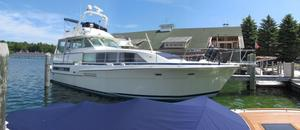 Used Bertram 46.6 Flushdeck Motoryacht Motor Yacht For Sale