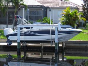 Used Hurricane 2400 Sun Deck OB Cruiser Boat For Sale