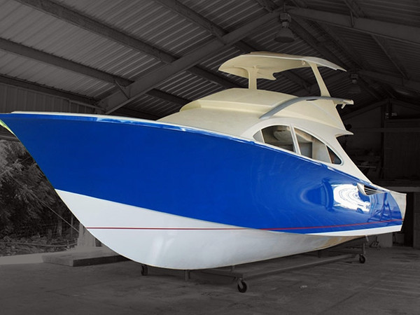 New Custom French Design Jager Flybridge Boat For Sale