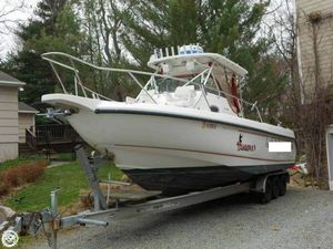 Used Boston Whaler 290 Outrage Walkaround Fishing Boat For Sale