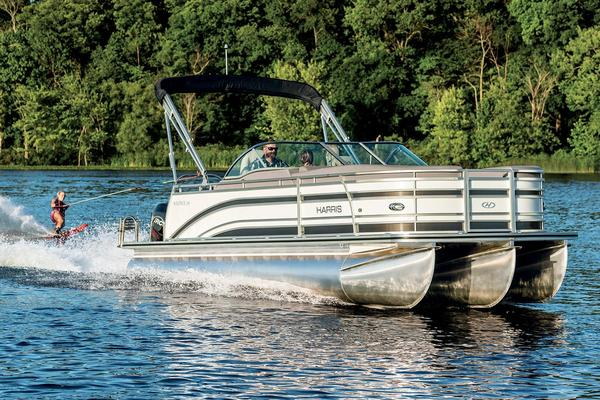Used Harris Solstice 240 Pontoon Boat For Sale