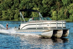 Used Harris Solstice 240 Pontoon Boat For Sale