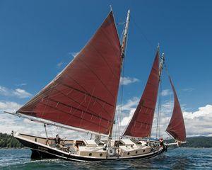 Used Schooner Chapelle Pinky Schooner Sailboat For Sale