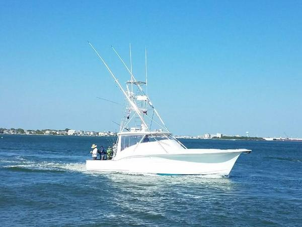 Used Custom Carolina Express Sportfisherman Sports Fishing Boat For Sale