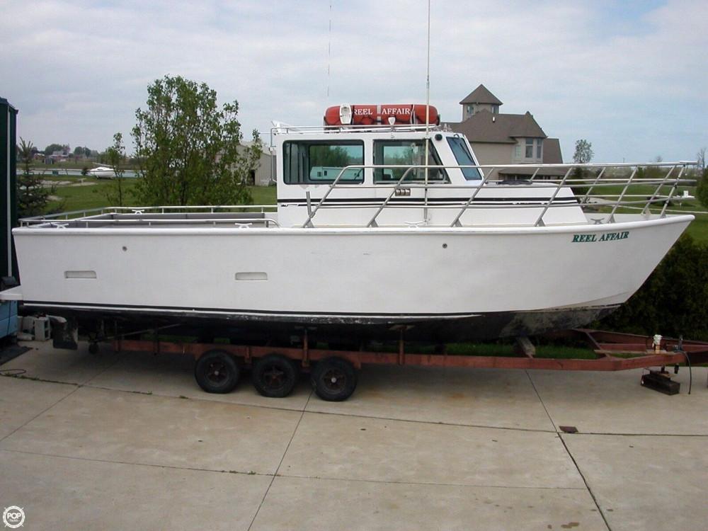 Used Custom 32 Aluminum Custom Pilothouse Boat For Sale