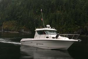 Used Seaswirl 2901 Striper Diesel Pilothouse Walk Around Sports Fishing Boat For Sale