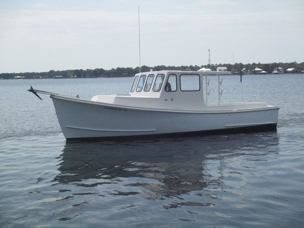 Used Seaworthy Open Downeast Fishing Boat For Sale