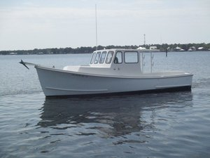 Used Bhm Open Downeast Fishing Boat For Sale