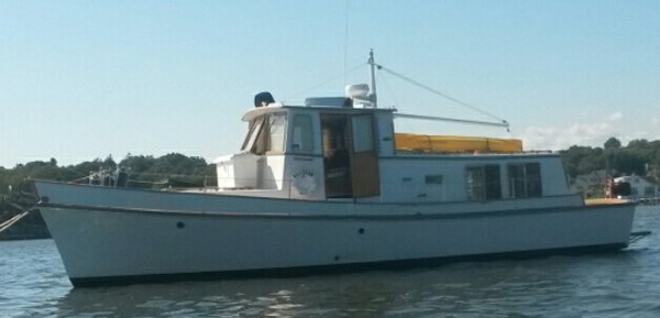 Used Custom Joseph Conboy 39 Pilot House Trawler Boat For Sale