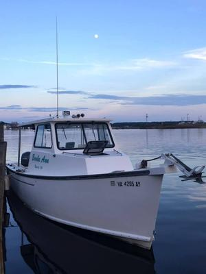 Used Evans Deadrise Sports Fishing Boat For Sale