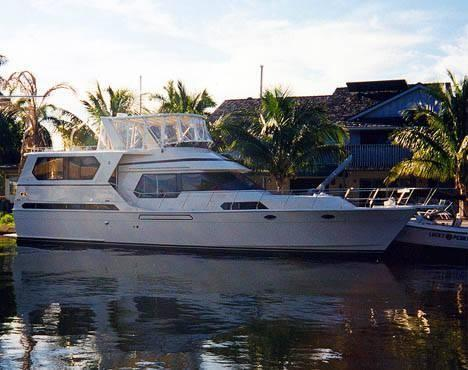 Used Med Yacht 56 Montercristo Motor Yacht For Sale