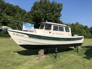Used C-Dory 22 Cruiser Boat For Sale