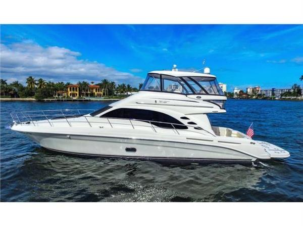 Used Sea Ray 580 Sedan Bridge Motor Yacht For Sale
