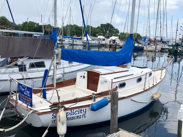 Used Cape Dory Cd-27 Sloop Sailboat For Sale
