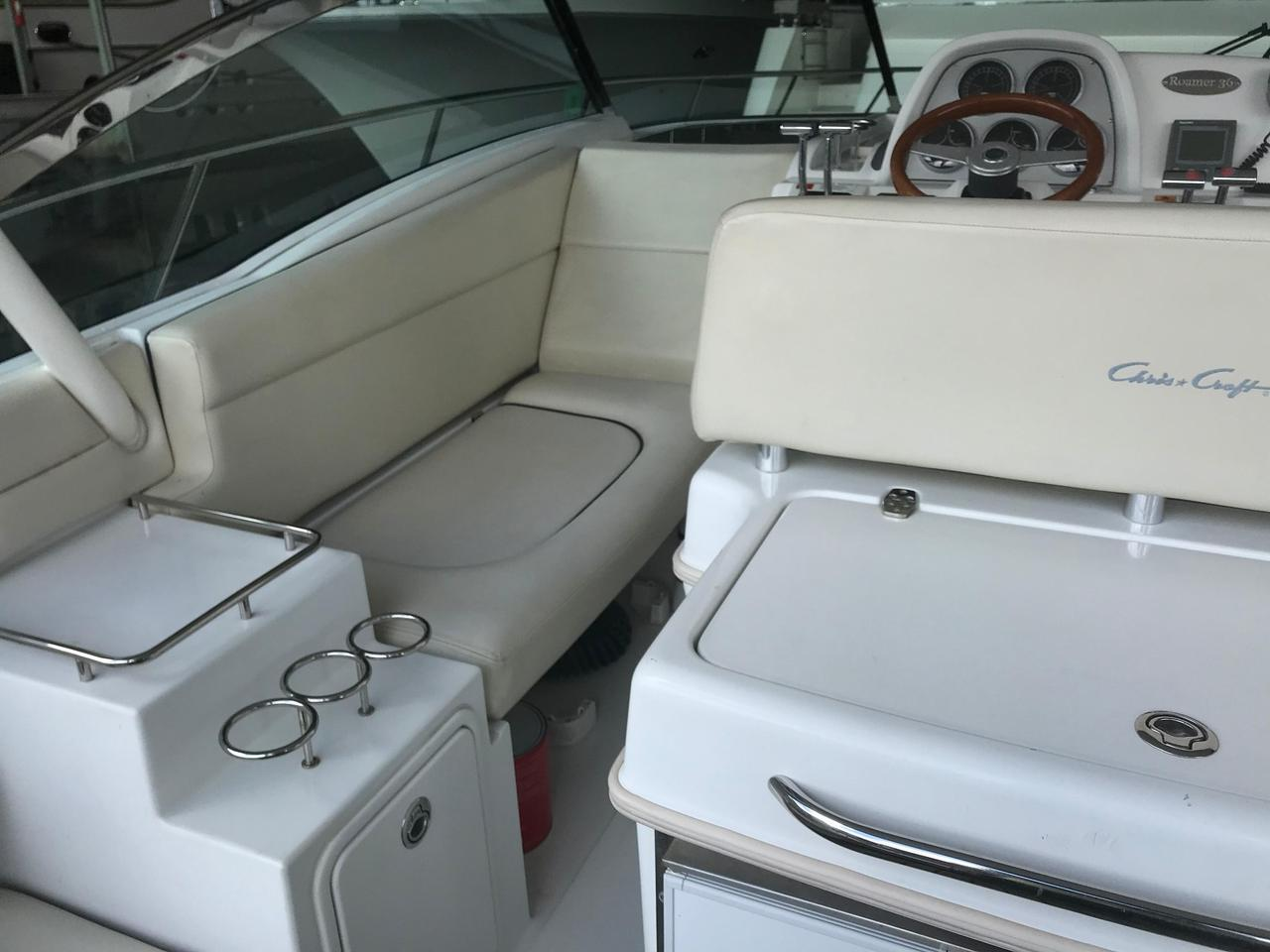 2004 Used Chris Craft Roamer 36 Express Cruiser Boat For Sale Wiring Diagram 6 Volt Generator