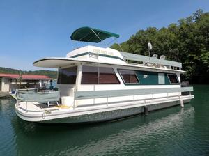 Used Gibson Executive 12 X 42 House Boat For Sale