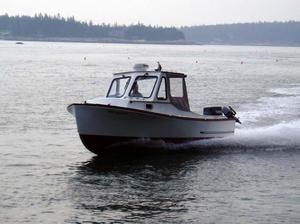 Used Eastern Cabin Cruiser Downeast Fishing Boat For Sale