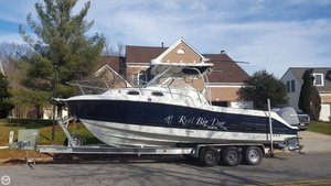 Used Hydra-Sports Vector 2800 Express Walkaround Fishing Boat For Sale