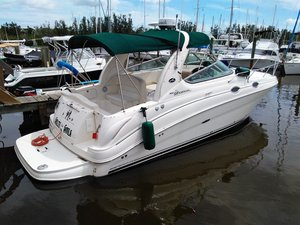 Used Sea Ray 280 Sundancer With Trailer Cruiser Boat For Sale