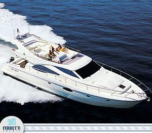 Used Ferretti Yachts 590 Motor Yacht For Sale