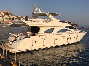 Used Azimut 80 Carat Flybridge Boat For Sale