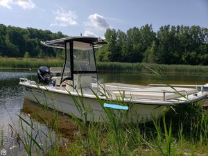Used Carolina Skiff 2180 DLX Skiff Fishing Boat For Sale