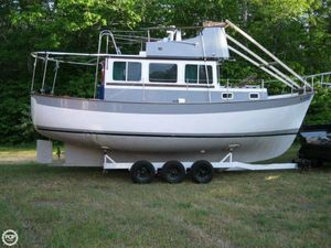 Used Willard Vega Nomad 30 Trawler Boat For Sale