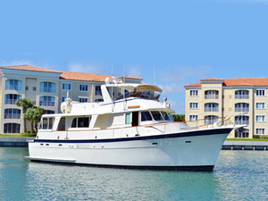 Used Hatteras LRC House Boat For Sale