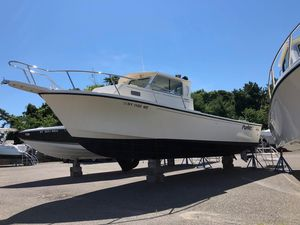 Used Parker 25 Deep-v Sport Cabin Pilothouse Boat For Sale