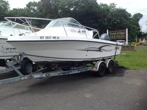 Used Angler 20 Walk Around Sports Fishing Boat For Sale