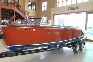 Used Chris-Craft 23 Barrel Back Reproduction Antique and Classic Boat For Sale
