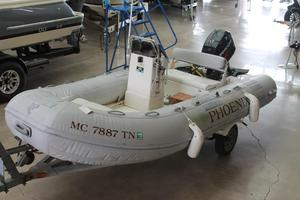 Used Caribe C 14 Rigid Sports Inflatable Boat For Sale