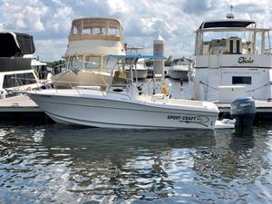Used Sportcraft 230 Center Console Fishing Boat For Sale