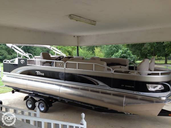 Used Tahoe 24 Fish Cruise Pontoon Boat For Sale