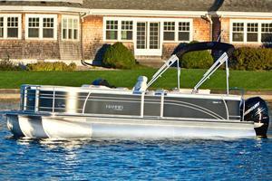 Used Harris Flotebote Sunliner 240 Pontoon Boat For Sale