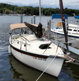 Used Com-Pac 19/3 Cruiser Sailboat For Sale