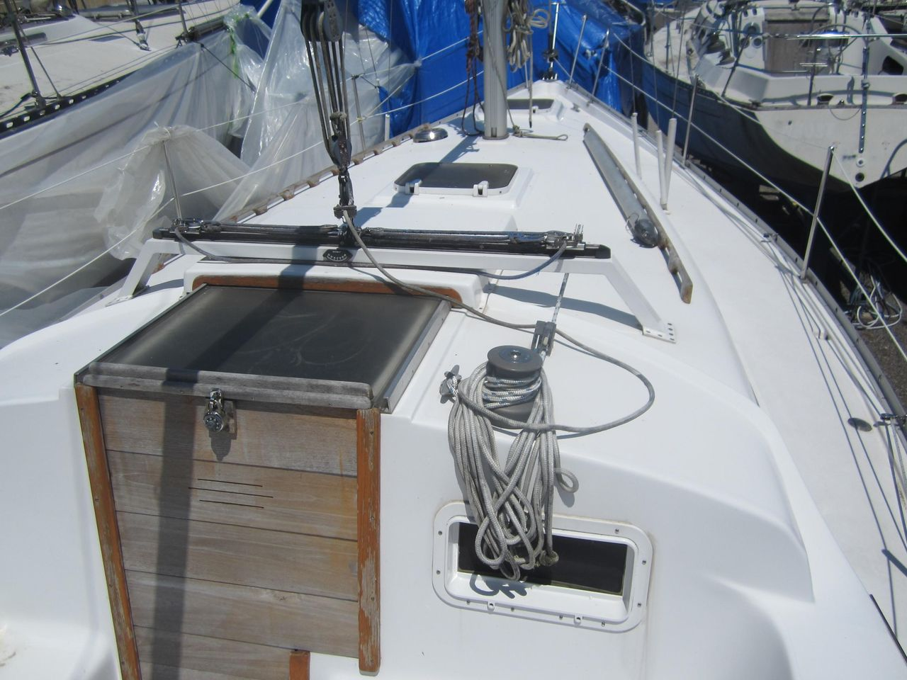 1980 Used Irwin Citation 34 Sloop Sailboat For Sale