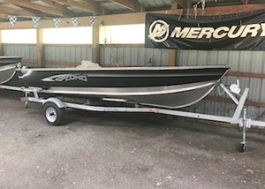 New Lund 1600 Fury Tiller Sports Fishing Boat For Sale
