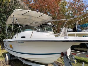 Used Trophy 2052 Walk Around Cuddy Cabin Boat For Sale
