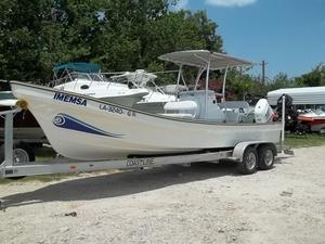 Used Panga Imemsa BW 25 Center Console Fishing Boat For Sale