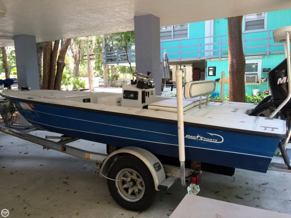 Used Pro Sports 1800 FF Flats Fishing Boat For Sale