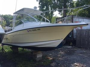 Used Trophy 2102 Walkaround Sports Fishing Boat For Sale