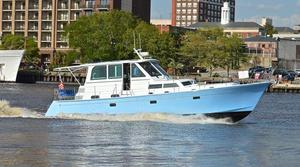 Used C.w. Hood 50 Express Commercial Boat For Sale