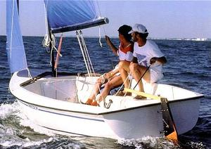 Used Precision 15 Daysailer Sailboat For Sale