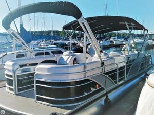 Used Aqua Patio Godfrey 250 Pontoon Boat For Sale
