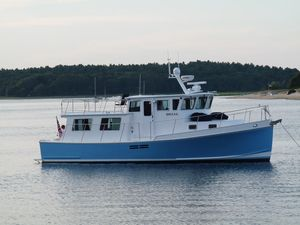 Used Wayne Beal 40 Fast Trawler Boat For Sale